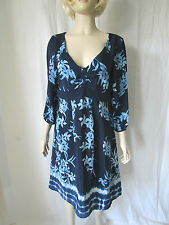 Monsoon Short Sleeve Tunic Floral Dresses for Women
