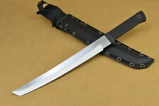 "NEW HOT SELLING 17.3"" FIERCE sharp 5mm 58HRC bowie survival hunting knife FK66-K"