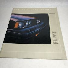 Audi 4000S Original Sales Brochure (W73-914-6031)