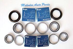 KOYO Japanese Front Wheel Bearing (2 Inner & 2 Outer) W/Seal For NISSAN XTERRA