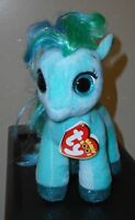 "TY Beanie Boos - TOPAZ the 6"" Teal Pony - Plush Stuffed Animal Toy - MWMTs"