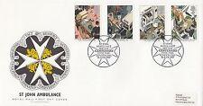 (89745) GB FDC St John Ambulance Hyde Park London 16 June 1987