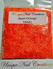 Solvent Resistant TINSEL ~*NEW COLORS ADDED* ~Nail Polish, Acrylic, Gel Nail~USA