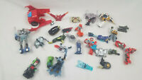 Transformers Lot Of Figures Parts Pieces None Are Complete Mixed Crafts