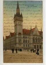AK Braunschweig, Das neue Rathaus, 1907