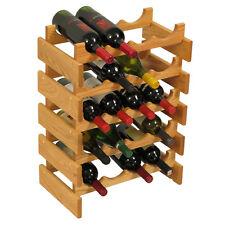 Wooden Mallet 20 Bottle Dakota Wine Rack WR45LO Wine Rack NEW