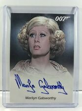 RITTENHOUSE James Bond 007 - AUTOGRAPH Marilyn Galsworthy Card - Signed, 50th