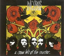 Incubus - A Crow Left Of The Murder... (CD & DVD 2004) Digipak; With DVD
