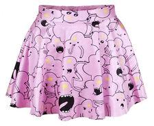 Ladies Adventure Time Lumpy Space Princess Skater skirt - 8 - 12 UK, kawaii