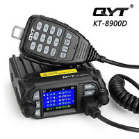 QYT KT-8900D 4 Color Dual Band Quad Standby Mini Car Truck Radio Transceiver US*