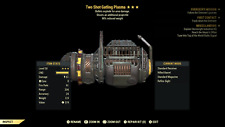 Fallout 76 (PC) 3🌟🌟🌟 Two Shot Explosive Gatling Plasma [90% Weight RD]