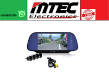 "Set Mtec Reversing Camera 4 Parking Sensors Display 7 "" on Mirror a Hook"