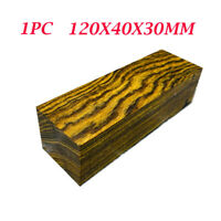 1x Mexico Bocota Wood DIY Knife Handle Scales Making Plate Material 120X40X30MM