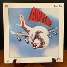 Airplane Laserdisc Laser Disc Digital Sound Extended Play Paramount Minty
