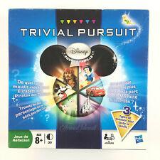 Trivial Pursuit Disney Pour La Famille / Jeu De Société Complet