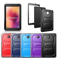 For Samsung Galaxy Tab A 8.0 SM-T387 2018 Case Rugged Bumper Hybrid Cover