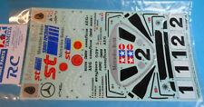 1990 TAMIYA 58088 Mercedes Benz C11 Decal Sticker Set 9495113 RC