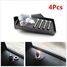 4 Pcs Carbon Fibre Car Truck SUV Interior Door Lock Knob Pins Handles Universal