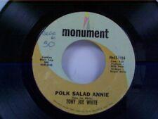 "TONY JOE WHITE ""POLK SALAD ANNIE / ASPEN COLORADO"" 45"
