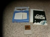 Easy Calc Result Commodore 64 Cartridge with box and manual
