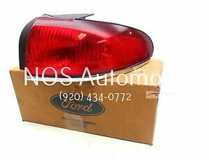 NOS New OEM 1995-1998 Mercury Mystique Right Tail Lamp Light Taillight Taillamp