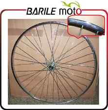 """Ruota / Cerchio Posteriore Bici Sport 28"""" x 1.5/8 x 1.3/8 - ACCIAIO - 3 Velocità"""