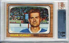 1966-67 Topps #16 Allan Stanley BVG 8.5 NM-MT+ Toronto Maple Leafs