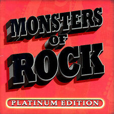 Various Artists, Monsters of Rock Platinum Edition, Excellent Extra tracks