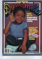 Dynamite 1984 Webster John Stamos Kevin Bacon MBX26