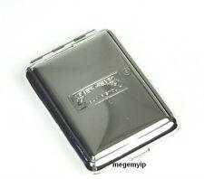 Vintage Portable Metal Match Safe Case Holder Box Matchbook Silver Finish