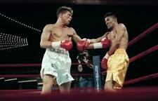 LARGE OLD BOXING PHOTO Arturo Gatti Lands A Punch v Wilson Rodriguez 4