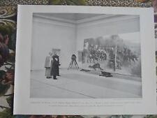 1899 Zeitungsdruck 3 / Berlin von Kossak Atelier Schloss Monjibou