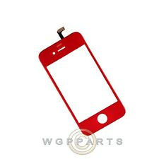 Digitizer Frame Assembly for Apple iPhone 4 GSM Red  Front Glass Touch Screen