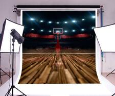 Basketball Event Backdrop Sport Theme Background 6x6FT Studio Photo Props Vinyl