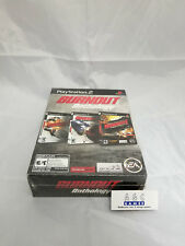 Burnout Anthology Sony PlayStation 2 PS2 Brand New