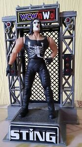 WCW NWO STING WITH STAGE