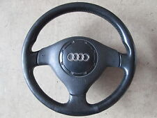 Volante de cuero volante airbag original audi a3 8l 3 radios 8l0419091j