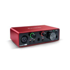 Focusrite Scarlett Solo 3rd Gen USB Audiointerface