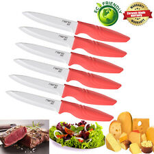 Steak Knives Ceramic knife Set of 6 Sharp NANO ID Kitchen Art Great Sharp Knife