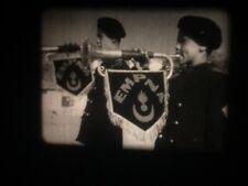 FILM 16mm ENFANTS DE TROUPE NORD AFRICAIN EMPNA 100m SON OPT ARMEE ANNEES 50