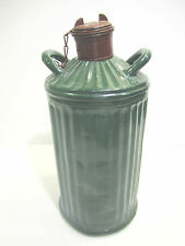 RARE OVAL TYPE GAS SHELL OIL KEROSENE CAN DAVIS WELDING MFG CO VERY NICE VINTAGE