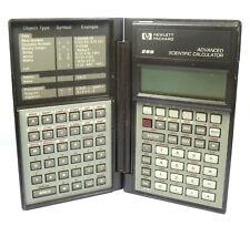 Vintage Hewlett Packard 28S Advanced Scientific Calculator USA 1986 .