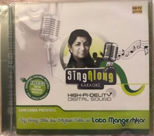Sing Along Karaoke: Lata Mangeshkar (Saregama) (RPG) - CD - STILL SEALED - NEW