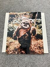 More details for star wars - warwick davies as wicket the ewok  - rotj signed 8 x 10 photo.