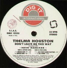 THELMA HOUSTON - Don't Leave Me This Way (New Remixes)