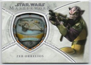 2018 Star Wars Masterwork Vehicle Patches MP-PSZ The Ghost Zeb Orrelios 119/175