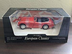 Ertl European Classics 1961 Austin-Healey 3000 Mark II 1/18 scale