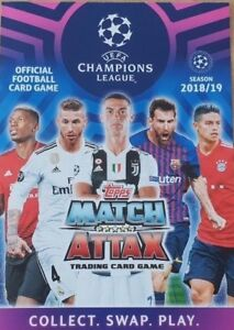 Topps Match Attax Champions League 2019 Limited Editions 100 club Hat Trick Hero