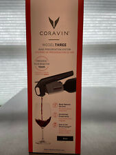 New listing Coravin Model three Nib comes with 2 Coravin Pure capsules and screw cap