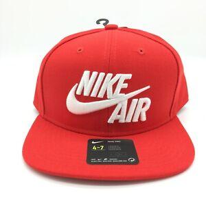 Nike Air Kids Baseball Cap Hat BIG LOGO SNAPBACK SPELL OUT Size 4/7 NWT